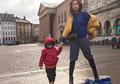 Gemas! El Barack Bantu Jessica Iskandar Bersihkan Rumah