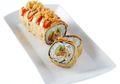 Sarapan Sushi, Kenapa Tidak? Sushi Goreng Ikan Kremes Super Renyah Ini Pasti Disuka Keluarga
