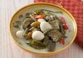 Sedapnya Makan Malam Dengan Sayur Lodeh Terung Hijau Telur Puyuh