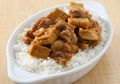 Sarapan Ala Chinese Food Dengan Nasi Siram Ayam Otak-Otak Yang Bikin Lahap