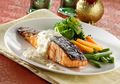 Setengah Jam Membuat Salmon Steak Antigagal ala Restoran Mewah