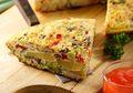 Omelet Kentang, Sarapan Bergizi Praktis Dibuat