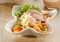 Salad Ayam Makaroni, Menu Sarapan Anti Ribet Kaya Gizi