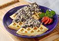 Sarapan Semakin Seru dan Bervariasi Dengan Menu Waffle Tape Cokelat