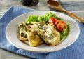 Brunch Sederhana dengan Omelet Daging Asap dan Keju yang Gampang Dibuat