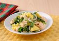 Tak Perlu Khawatir Gemuk Makan Malam dengan Sepiring Salad Sayur Saus Mayo Kuning Telur