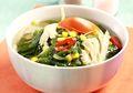 Makan Siang Pasti Jadi Semangat Kalo Bening Bayam Jamur Ini Hidangan Berkuahnya