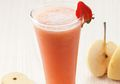 Pecah Banget, Jus Pear Stroberi Segar Ini Bikin Mata Melek Dan Tenggorokan Sejuk