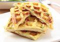 Seperti Sulap, Resep Omelet Waffle Lezat Ini Bisa Kita Buat Dalam Waktu Sekejap