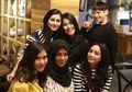 Nagita Slavina Makan Malam Bareng Keluarga di Restoran Mewah, Raffi Ahmad Absen