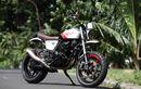 Yamaha Scorpio Sangar Pakai Kaki Moge dan Mesin Jadi 2 Silinder 450cc