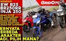 Sudah Tayang Nih, Video Komparasi New R25 VS CBR250RR dan Ninja 250