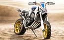 Bukan Africa Twin Baru! Ini Africa Four, Hasil Modif Honda CB1000R