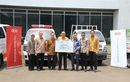 Dukung Pemulihan Gempa dan Tsunami Palu, Kia Sumbang Ambulance dan Pick Up