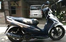 Motor Matik Suzuki Jadi Empuk, Sokbreker Ganti Punya Honda Vario