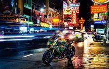 Nyentrik Banget, Motor Gede Yamaha R1M Livery-nya Mirip Batik