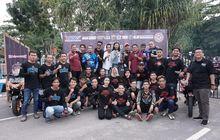 Meriah! Duet Anniversary ARCI Belitung ke-1 dan Yamaha R15 Club Indonesia Belitung ke-2