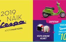 Vespa dan Piaggio Bagi-Bagi Helm dan Voucher Hingga Rp 10 Juta