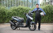 Yamaha Lexi Lebih Pede Jejer Sama NMAX Standar, Tabung Kuning Ngintip