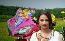 Meme Kocak Vanessa Angel, Bonceng V-Ixion Sampai Pose Di Depan R15