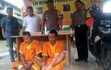 Jambret Pakai Yamaha NMAX, Kaki Pelaku Bolong Ditembak Polisi Lamongan