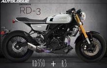 Kembaran Yamaha R25 Jadi Retro Berkat Bantuan Leluhurnya RD350