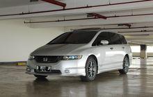 Honda Odyssey RB1 Sedan 'Kabin Panjang' Diburu, Harga Seken Terjangkau