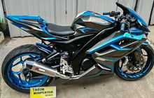 Honda CBR250RR KW Super, Aslinya Sih Yamaha V-Ixion Versi Modif