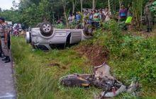 Toyota Rush Pelat Merah Melebar, Benturan Keras Menewaskan Ibu dan Anak