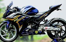 Honda CBR150 Ganteng Pakai Up Side Down All New R15, Segini Biayanya