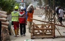 DKI Jakarta Anggarkan Rp 473,7 Miliar untuk Perbanyak Trotoar