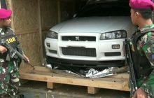 Mobil Mewah Ex Singapur Teronggok Bisu, Bos Pemilik Gudang Diamankan