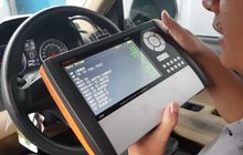 Ganti Pelek Mobil  Bikin Sensor dan Elektrikal Error, Scanning Beraksi