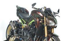 Kawasaki Z900 Bunglon, Sasis Hijau Bikin Mati Warna Saat Mau Ganti