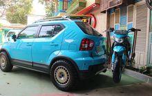 Suzuki Ignis Nyentrik, Motor Bisa Digendong, Ubahannya Bikin Bengong