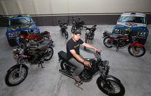 Dua Kolektor Yamaha RX-King Bikin Iri, Modal Kuat Hasil Memikat