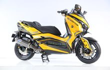 Yamaha XMAX 300 Cc Telan Sokbreker Elektrik, Harga Sebanding Kelebihan