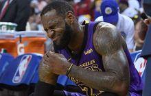 Kepergian Magic Johnson dari LA Lakers Susah Diterima LeBron James