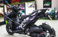 Yamaha Aerox Nakutin, Decal Seram, Teriakan Knalpot Z1000 Makin Horor