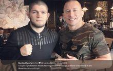 Daripada Hadapi Khabib Nurmagomedov, Bos UFC Lebih Suka GSP Jadi Komentator