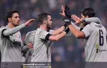 Hasil Liga Italia - Ronaldo Cetak Gol, Juventus Atasi Sassuolo