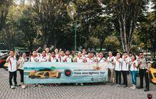 McLaren Club Indonesia Turing Bareng TOP1, Tempuh Jakarta - Semarang