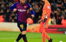 Lionel Messi Cetak Rekor Jumlah Tembakan, Mental oleh Kiper Valladolid