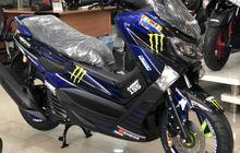 NMAX Livery Monster Energy Yamaha MotoGP Sudah Dipajang di Dealer!