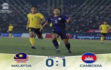 Piala AFF U-22, Kamboja Pimpin Klasemen Grup B, Timnas U-22 Indonesia Wajib Tekuk Malaysia