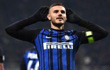 Mauro Icardi Ogah Masuk Ruang Ganti Inter Milan, Pelatih Jadi Sedih