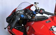Biar Enggak Pegal, Begini Cara Bikin Tinggi Setang Honda CBR250RR