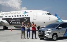 Mitsubishi dan Garuda Indonesia Genjot Kerjasama, Xpander Nempel di Pesawat