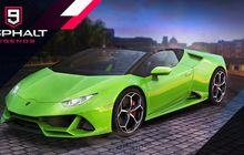 Kolaborasi Lamborghini & Gameloft Menghadirkan Huracán EVO Spyder di Asphalt 9: Legends