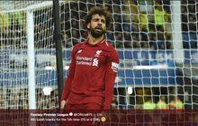 VIDEO - Mohamed Salah Tumpul, Suporter Liverpool Tak Henti Mendukung